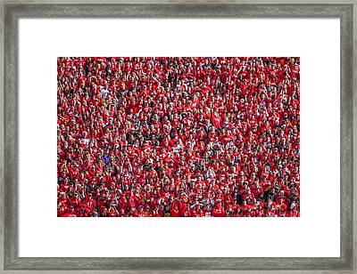 Student Section Framed Print by Todd Klassy