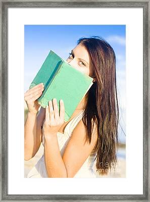 Student Study Skills Framed Print