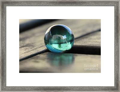 Studies In Glass ...marble Framed Print by Lynn England