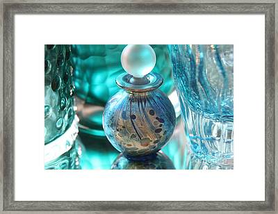 Studies In Glass...murano Framed Print by Lynn England