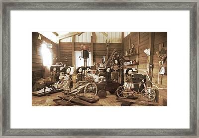 Studio Image Framed Print