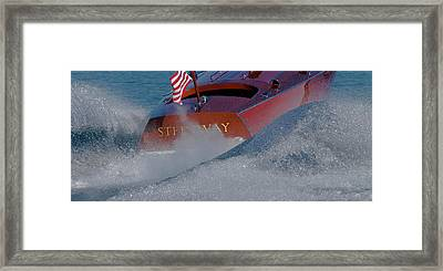 Red White Blue Framed Print by Steven Lapkin