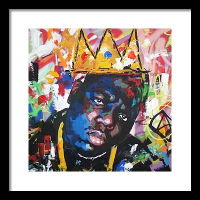 Jay Z Paintings Framed Prints