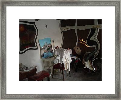 Studio S Framed Print by Angel Ortiz