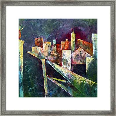 Studio Framed Print by Shadia Zayed