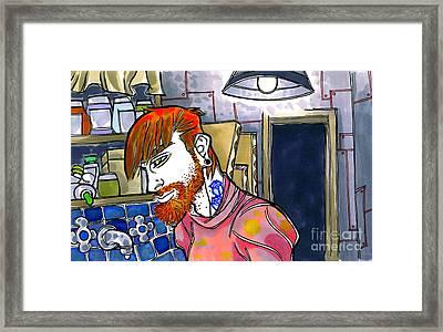 Studio Time Framed Print