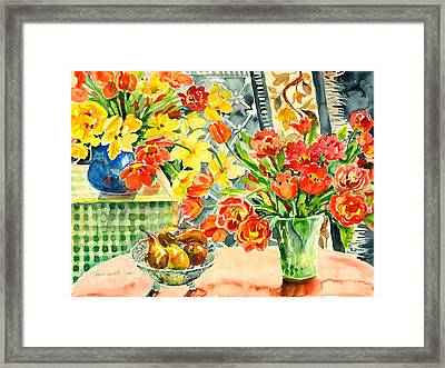 Studio Still Life Framed Print