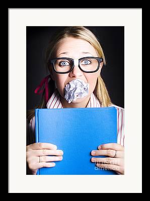 Emotional Knowledge Framed Prints