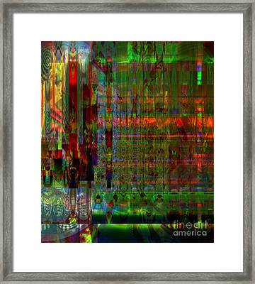 Study - Mental Condition Of The Artist Framed Print by Fania Simon