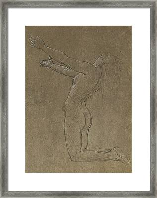 Study For Clytie Framed Print
