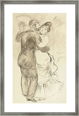 Study For Countryside Dance Framed Print