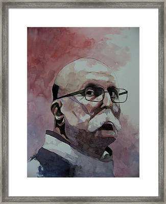 Study For Giovanni Framed Print by Ray Agius