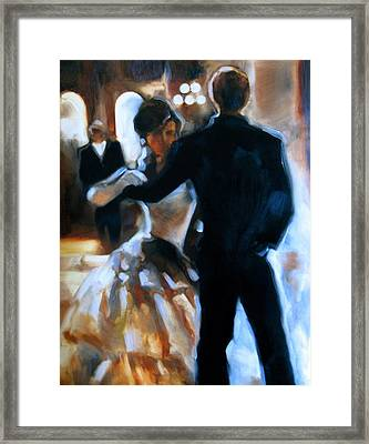 Study For Last Dance Framed Print by Stuart Gilbert
