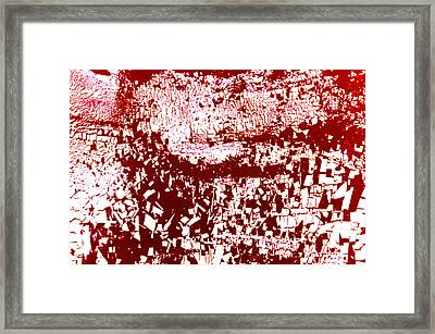 Study For Na Two Everybody Run Framed Print