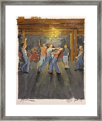 Study For The Warehouse Framed Print by H James Hoff