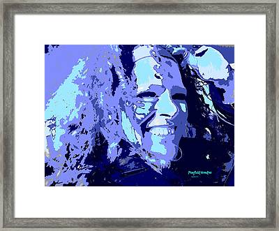 Study In Blue 1 Framed Print by Penfield Hondros