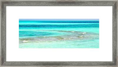 Study In Blue Framed Print by Corinne Rhode