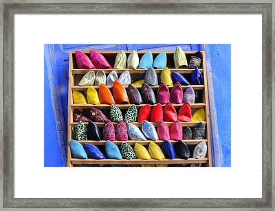 Framed Print featuring the photograph Study In Color by Ramona Johnston