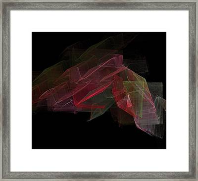 Study In Space Framed Print by Thomas Smith