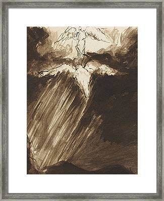 Study Of Jacob's Dream Framed Print by John Constable