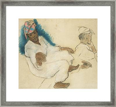 Study Of Martinique Women Framed Print by Paul Gauguin