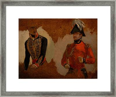 Study Of Royal Horse Artillery Framed Print