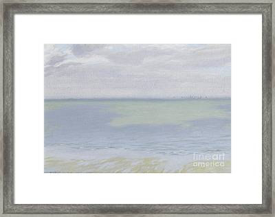Study Of Sea And Sky Framed Print
