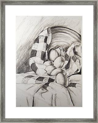 Study Of Value And Texture No. 1 Framed Print by Amy Williams
