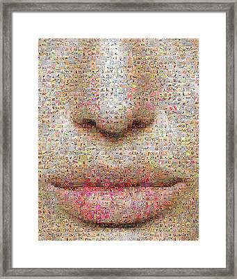 Study One Framed Print by Gilberto Viciedo