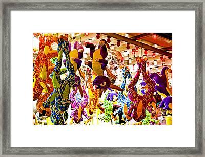 Stuffed Slaughterhouse Framed Print