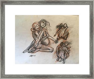 Stufy For Sculpture Framed Print by Alejandro Lopez-Tasso
