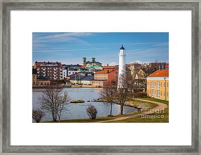 Stumholmen Island Framed Print by Inge Johnsson