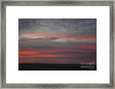 Stunning Cape Charles Sunset Framed Print