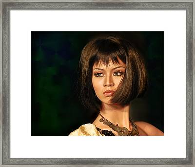 Stunning Framed Print by Charuhas Images