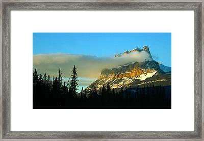 Stunning Mountain Framed Print
