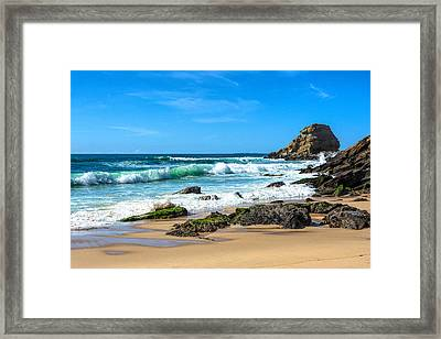 Framed Print featuring the photograph Stunning Seascape by Marion McCristall