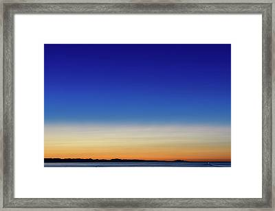 Stunning Sunset I Framed Print