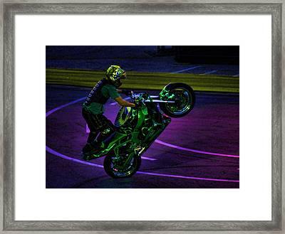 Stunting 2 Framed Print