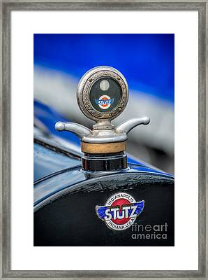 Stutz Motor Company Framed Print by Adrian Evans