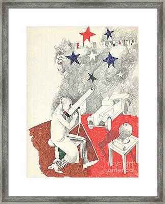 Stars Fell On Alabama Framed Print
