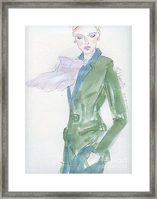 Style Framed Print by P J Lewis