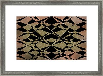 Style1 Framed Print by Evelyn Patrick