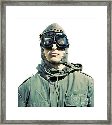 Stylised Squadron Captain Framed Print by Jorgo Photography - Wall Art Gallery