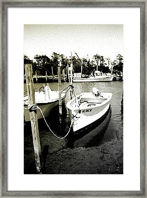 Styron Bay Harbor 1 Framed Print by Alan Hausenflock