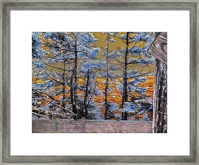 River Of Fire Framed Print