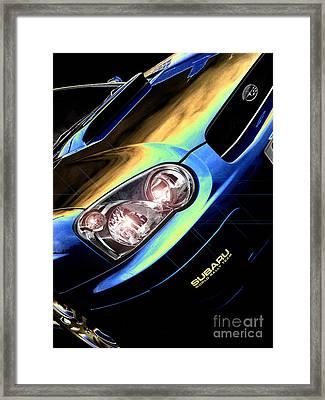 Subaru Impreza  Framed Print