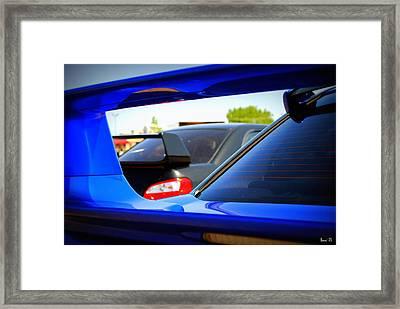 Subaru Impreza Wrx Sti Framed Print by Bonae VonHeeder
