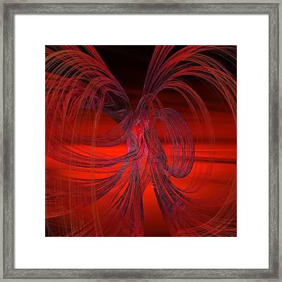 Subatomic Framed Print