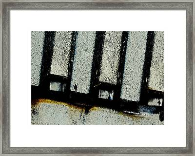 Framed Print featuring the digital art Subdivisions by Ken Walker