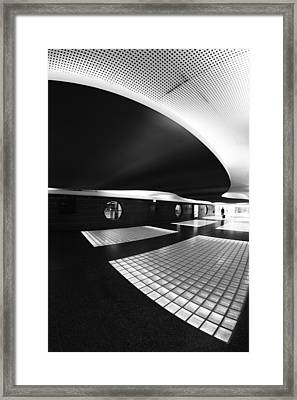 Subhuman Framed Print by Paulo Abrantes